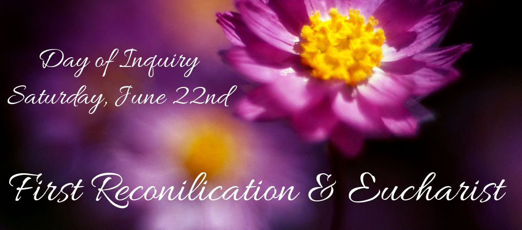 First Reconciliation and Eucharist